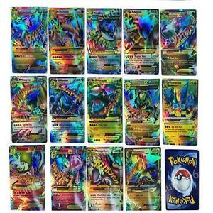 Pokemon-Tcg-18-tarjeta-Mega-18-piezas-meter-tarjetas-ex-Charizard-Venusaur-Blastoise