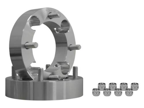"""Turbo 1 Pair 2017+ SuperATV 1.5/"""" Wheel Spacers for Can-Am Maverick X3"""