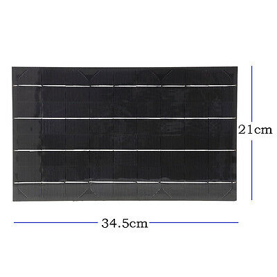 18V 10W 555mA Mini Solar Panel Module DIY for Phone Toys Charger