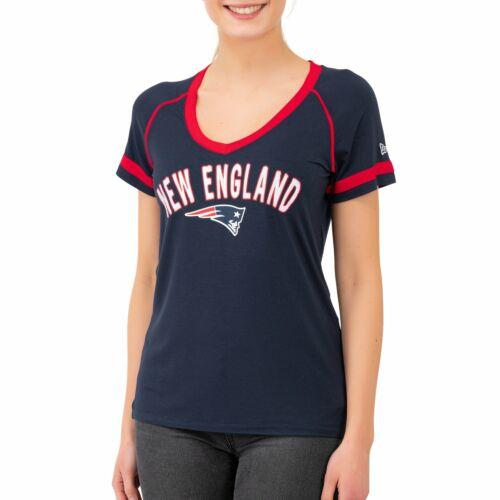 RAGLAN New England Patriots New Era NFL Damen Jersey Top