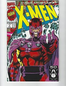 1991 X-MEN #1 All 5 Covers MARVEL VF/NM Jim Lee Unread copies! Free Shipping!