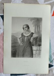 Belle Gravure Xixème - Rebecca - Bible - Religion - Gustave Staal Bjyqchy8-08000138-187119976