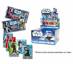 5-Card-Star-Wars-Force-Attax-X-50-Booster-Trading-Collectible-Box-TOPPS-Series-1