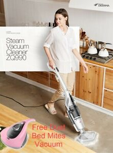 Used-Deerma-ZQ990-Steam-Vacuum-Mop-Wet-amp-Dry-free-Dust-Bed-Mites-Vacuum-UV-Ray