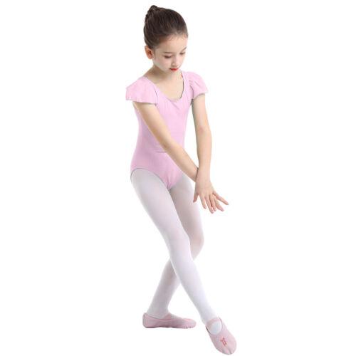 Girls Ballet Leotard Dance Dress Gymnastics Leotard Jumpsuit Dancewear Costume