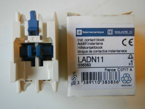 Schneider//telemecanique//type LADN 11//contact auxiliaire Bloc//Nouveau//OVP
