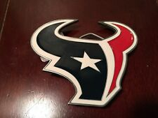Houston Texans BELT BUCKLE NFL PEWTER NEW FOOTBALL FAN GEAR GIFT