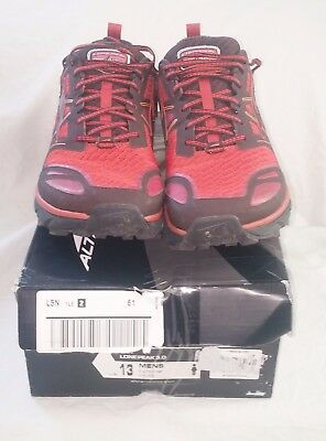 ALTRA LONE Peak 3.0 Hiking Running Shoes Store Display Mens Size 13
