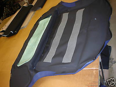 BMW Z3 96 97 98 99 00 01 02 CONVERTIBLE TOP ROOF BLUE
