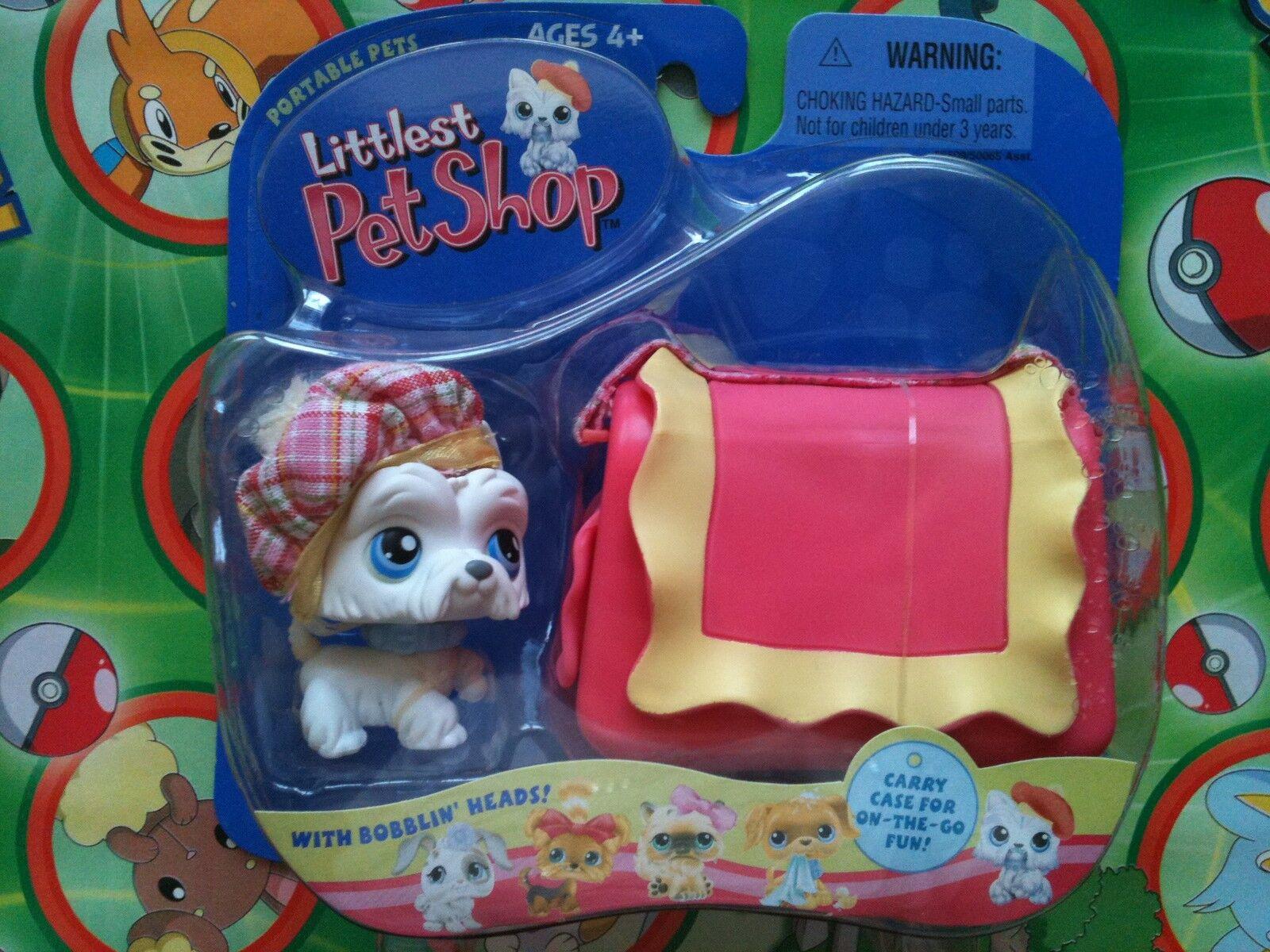 Littlest Pet Shop White Scottie    Terrier New in Box Retired Dog 1st 80 pets ec9106