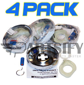 4-PACK-3951311-3951312-62699-WASHER-TRANSMISSION-CLUTCH-FITS-WHIRLPOOL-KENMORE