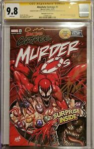 Absolute-Carnage-1-Murder-O-039-s-Variant-CGC-SS-9-8-3x-Nakayama-Cates-amp-Stegman
