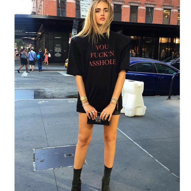 VETEMENTS  Demna Gvasalia auth oversized football shoulder pad t-shirt M NEW