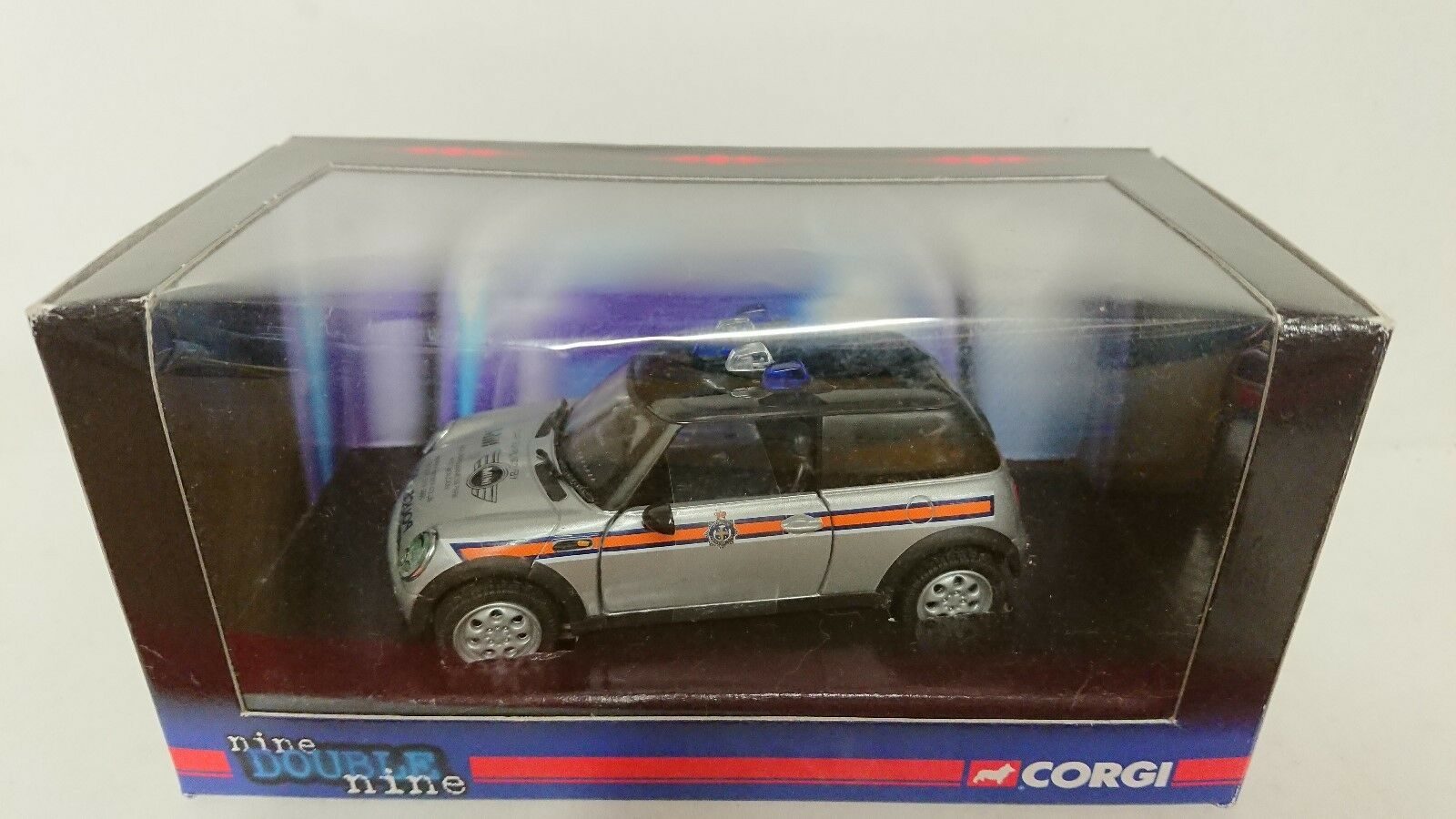 Corgi Corgi Corgi Nine Double Nine CC86519 BMW Mini Cooper Durham Police Ltd Ed 0002 of 3500 75af04