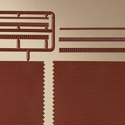 Ziegelmauern mit Zahnfriesvarianten rot Auhagen 41205 H0 1:87 1:100 658,09€//m²