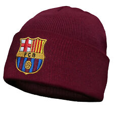 90f7bb652ff FC Barcelona Official Football Soccer Gift Knitted Bronx Beanie Hat Crest