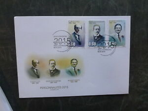 2015-LUXEMBOURG-PERSONALITIES-SET-OF-3-FDC-FIRST-DAY-COVER