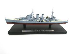 Rationnel Hms Exeter - 1:1250 Navire De Guerre Atlas Deagostini-bateau Militaire 14 CaractèRe Aromatique Et GoûT AgréAble