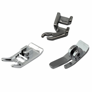 3-Pc Low Shank Snap-On Presser Foot Set #446014 for Singer Sewing Machine