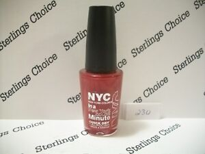 Details about NYC In A New York Color Minute Nail Polish #230 Penn Station