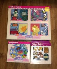 RARE LOT FISHER PRICE LOVING FAMILY DREAM DOLLHOUSE SEASONAL COLLECTION COOKING