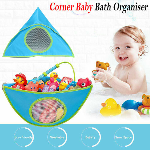 Kids Munchkin Corner Bath Toy Assorted Organizer Storage Adjustable Tub Holder
