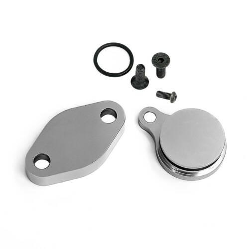 EGR Dele-te Intake Exhaust Block Off Plate LSX For Silverado 4.8//5.3//6.0L LQ4