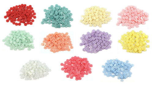- Choice of 11 Colours 16mm Size 26 100 x Star Baby Buttons