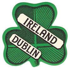 Dublin  Ireland    Vintage-Looking  Travel Decal/Luggage Baggage Label/Sticker