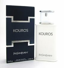Kouros Cologne by Yves Saint Laurent 3.3 oz.EDT Spray Men. Brand new.No plastic.