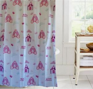 Image Is Loading Girly Pink Shower Curtain New Free Shipping