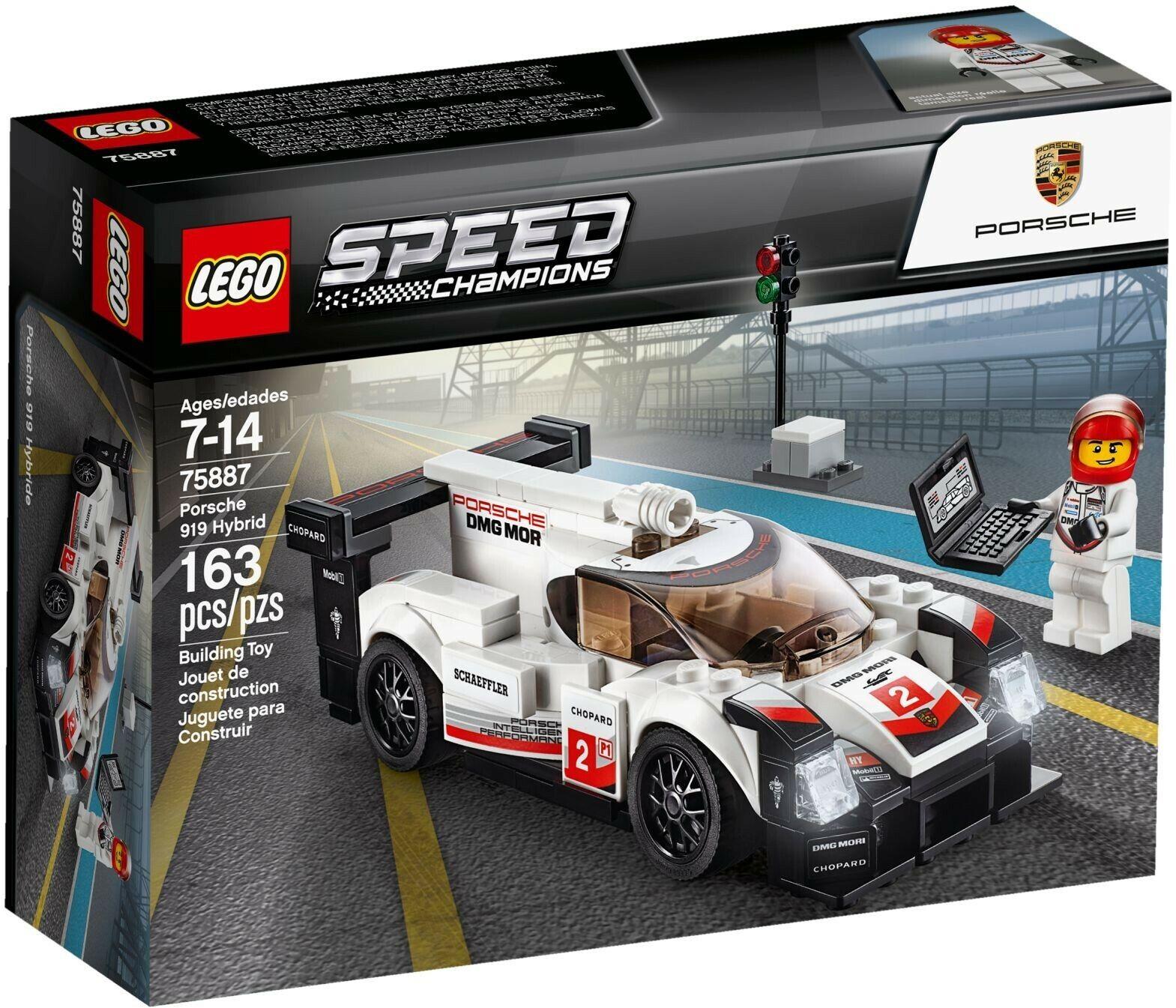 LEGO 75887 Speed Champions Porsche Porsche Porsche 919 Hybrid -DAMAGED BOX   - 9eaa6a