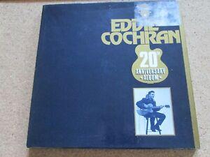EDDIE COCHRAN - 20th Anniversary Album 4LP Boxed Set , 1980 ECSP 20
