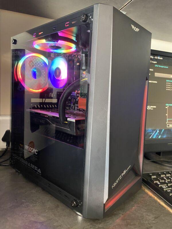 i3 6th gene/ 2tb hdd/ 4gig RX470 gpu Gaming Tower for R6500