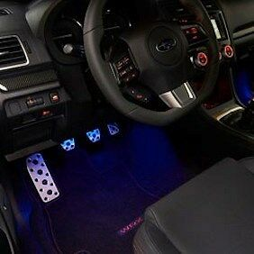 Subaru H701sfj001 Forester Interior Footwell Illumination Kit Blue