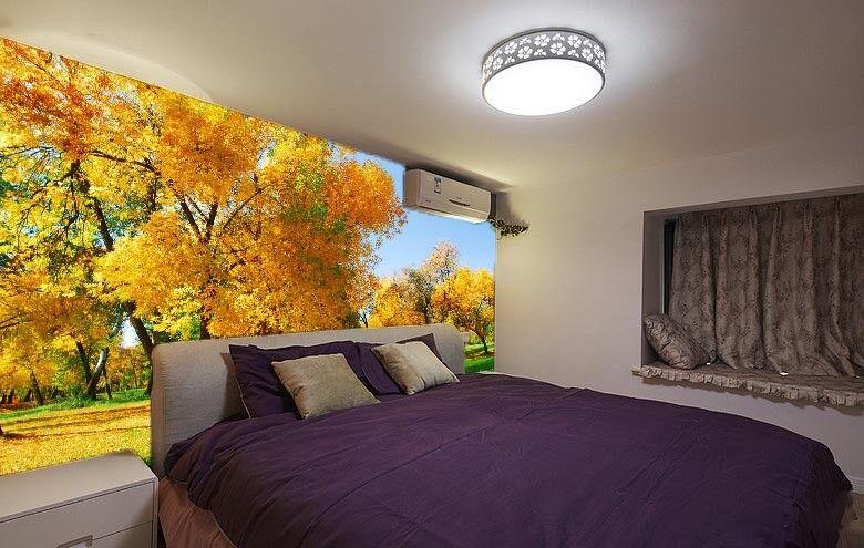3D Trees Lawn 4215 Wallpaper Murals Wall Print Wallpaper Mural AJ WALL UK Carly