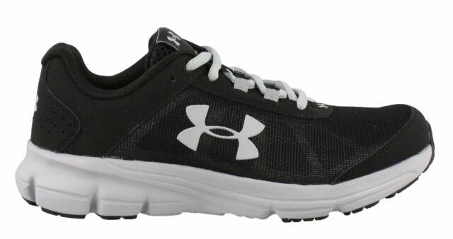 UA BGS Rave 2 Boys 4y Shoe Black Gray
