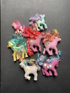 Vintage 80s My Little Pony Lot of 7