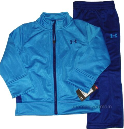 Under Armour Jacket Pant Boys Athletic Sport Active wear Track Suit Warm Up