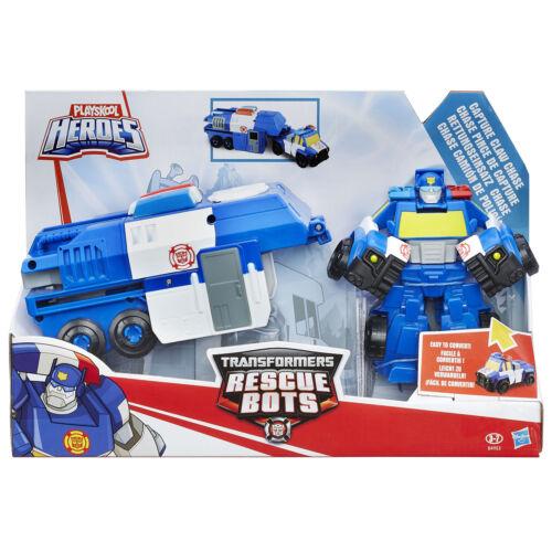 Playskool Heroes Transformers Rescue Bots Rig CATTURA Artiglio Chase Figura HASBRO