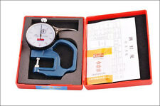 Dial thickness Gauge leather cloth paper film Thickness meter 0.01 0-10mm