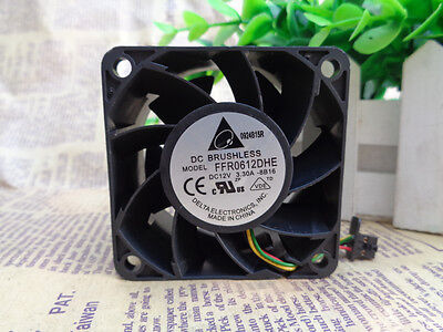 Delta AUB0612L fan 60*60*25mm 12V 0.16A 3Pin