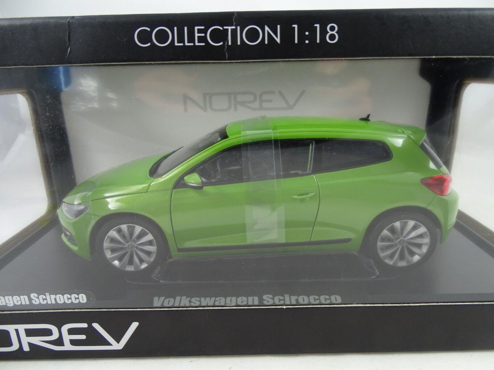 1 18 Rarità Norev  188497 Volkswagen Scirocco verde - Nuovo §