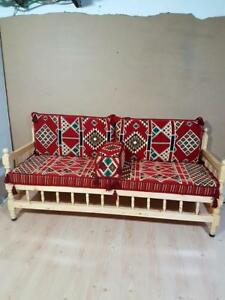 Details about Turkis Oriental Eastern Floar Seating Sofa Cushion Cover  Hookah Lounge Handwoven