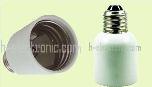 LED Adapter Adaptor 5 Stück E14 E27 GU10 G9 B22 MR16 GX53 E40 Fassung Konverter