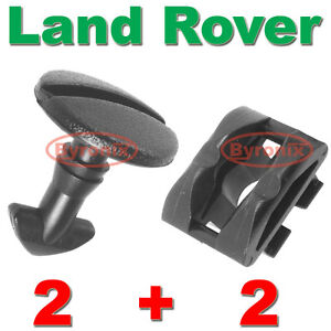 LAND-ROVER-DISCOVERY-3-4-REAR-BUMPER-TOW-COVER-CLIPS-TOWING-EYE-TRIM-TURN-LOCK