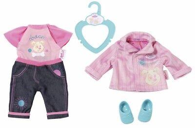 Puppen & Zubehör Realistisch Zapf Creation 825464 My Little Baby Born® Kita Outfit Mangelware Kleidung & Accessoires