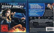 DRIVE ANGRY --- Blu-ray --- Comicverfilmung --- Uncut --- FSK 18 ---