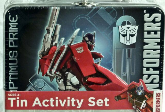 Transformed Alpha Quint Quintesson Figure Boy Toys Gift in Boxed Optimus Prime