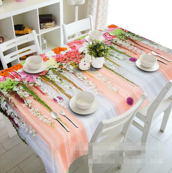 3D Cute Lace 4 Tablecloth Table Cover Cloth Birthday Party Event AJ WALLPAPER AU